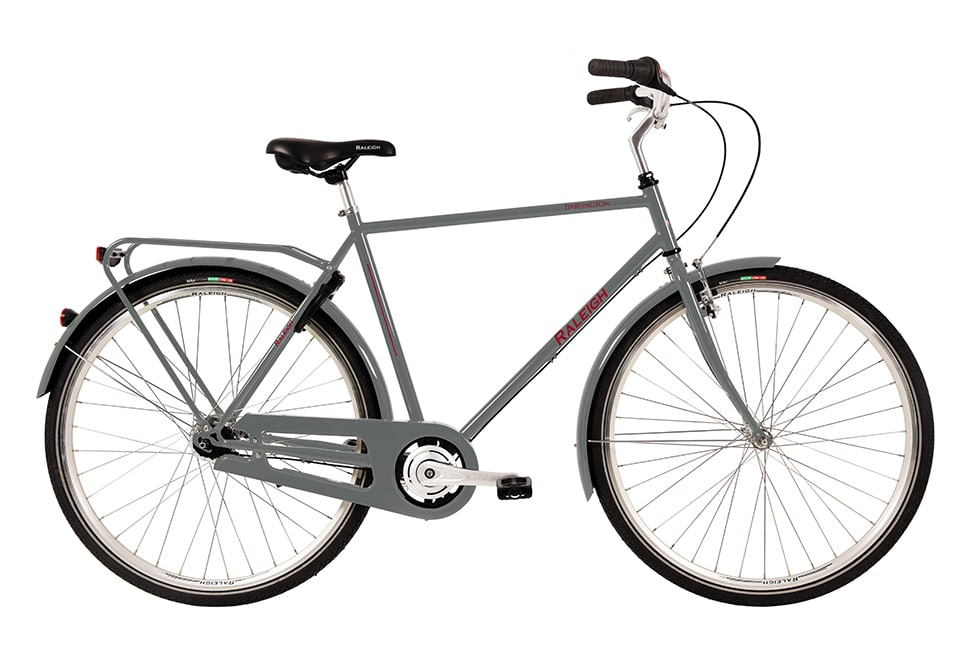 Raleigh Darlington Herre 3 gear blank grå
