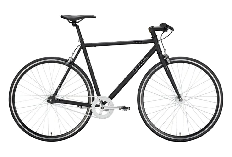 Excelsior Dandy singlespeed herre black matt
