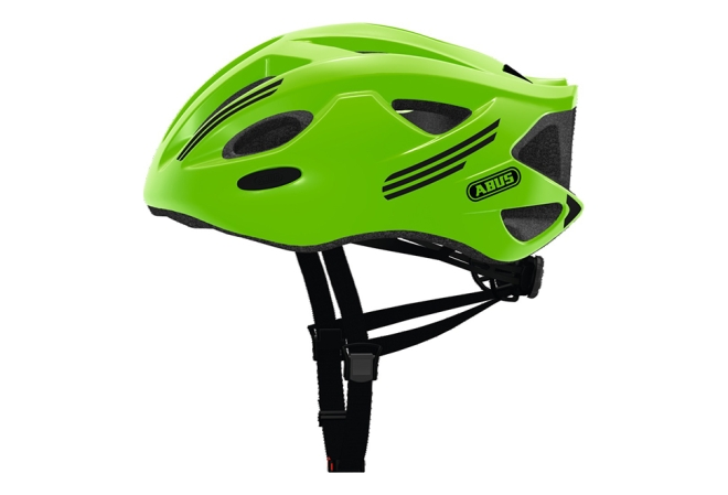 ABUS S-Cension cykelhjelm neon green
