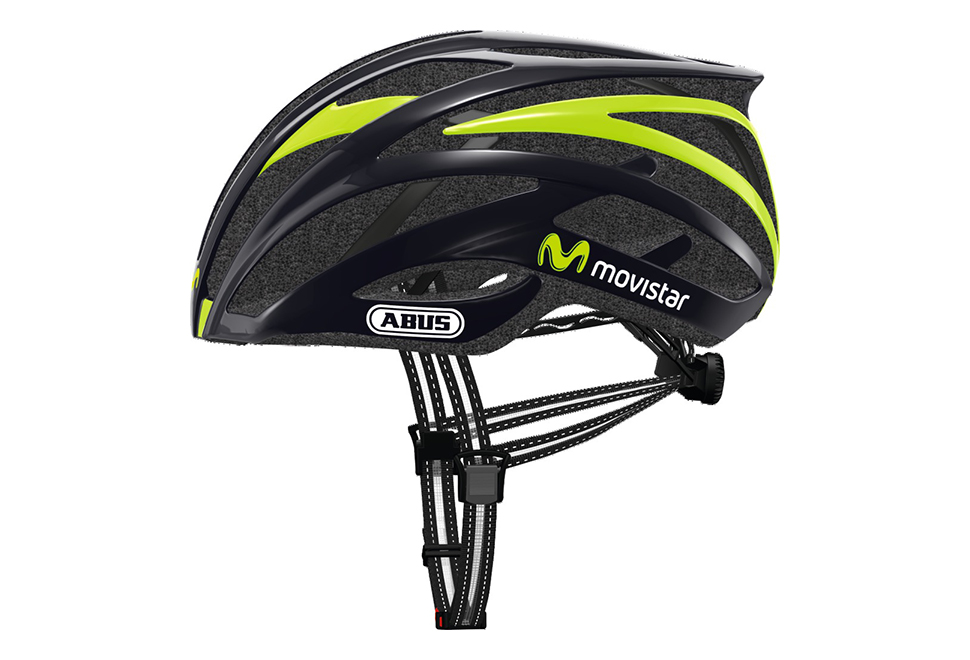 ABUS Tec-Tical Pro 2.0 cykelhjelm Movistar Team