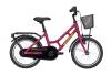 Winther 150 pige 16in 1 gear Mat purple/gul pigecykel i lill