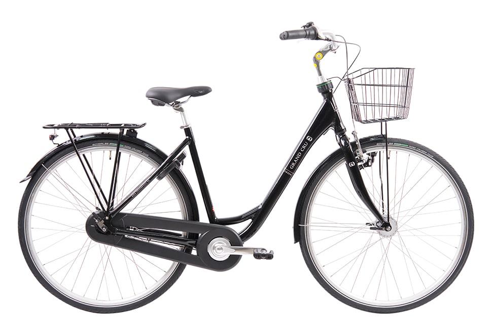 Ebsen Grand Cru Dynamo damecykel i sort