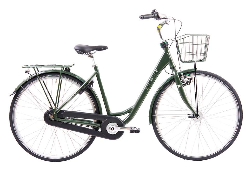 Ebsen Grand Cru Dynamo damecykel i grøn