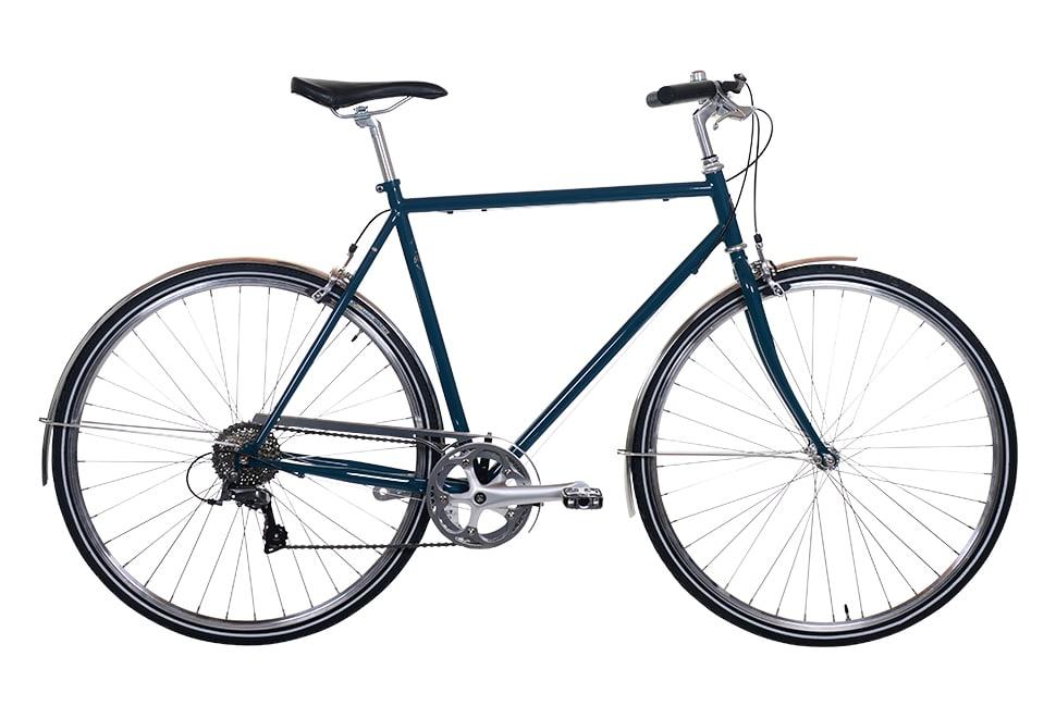 Remington Runwell herrecykel i blå