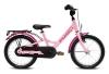 "Puky Youke 16"" hjul pigecykel I pink lyserød"