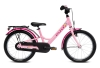"Puky Youke 18"" hjul pigecykel i pink lyserød"