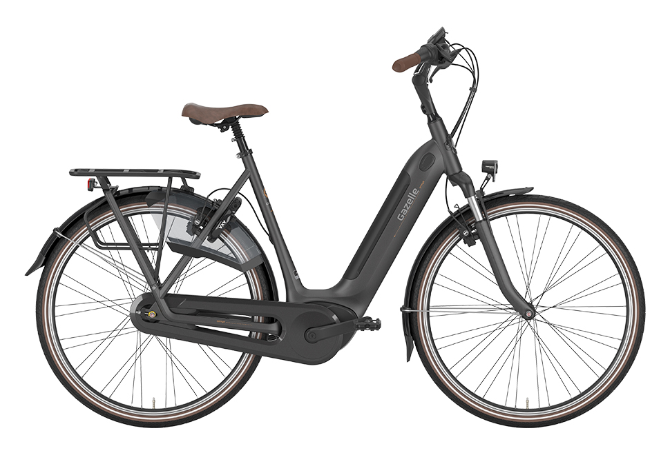 Gazelle Arroyo C7+ HMB Elite - Eclipse Black | el-cykel