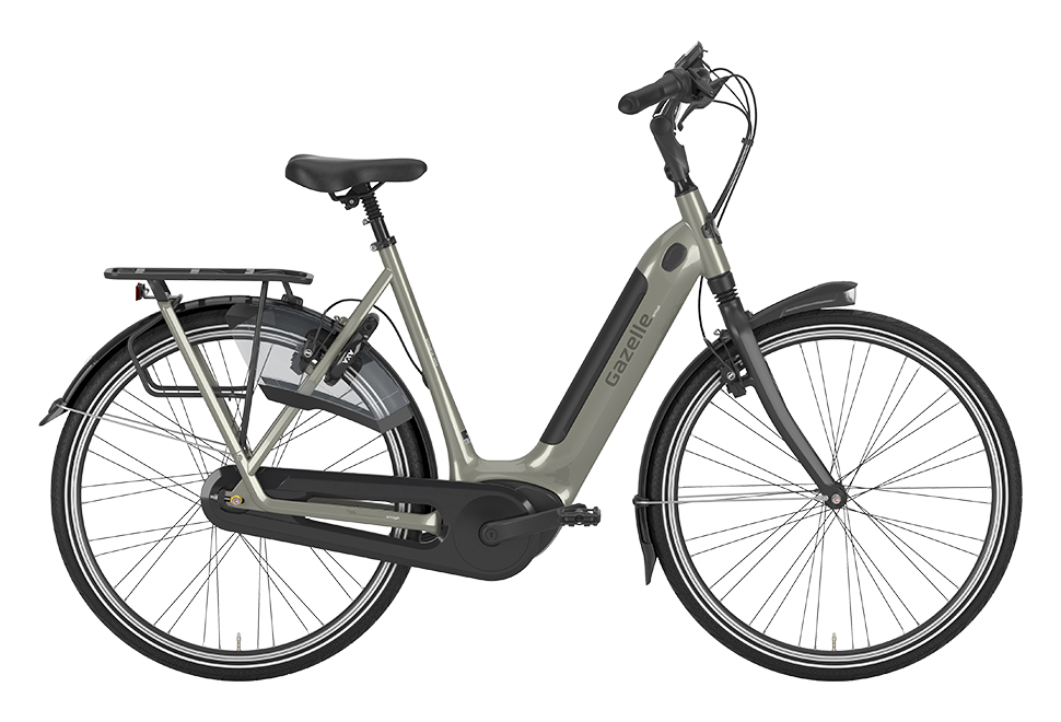 Gazelle Arroyo C8 HMB Elite damecykel i grå