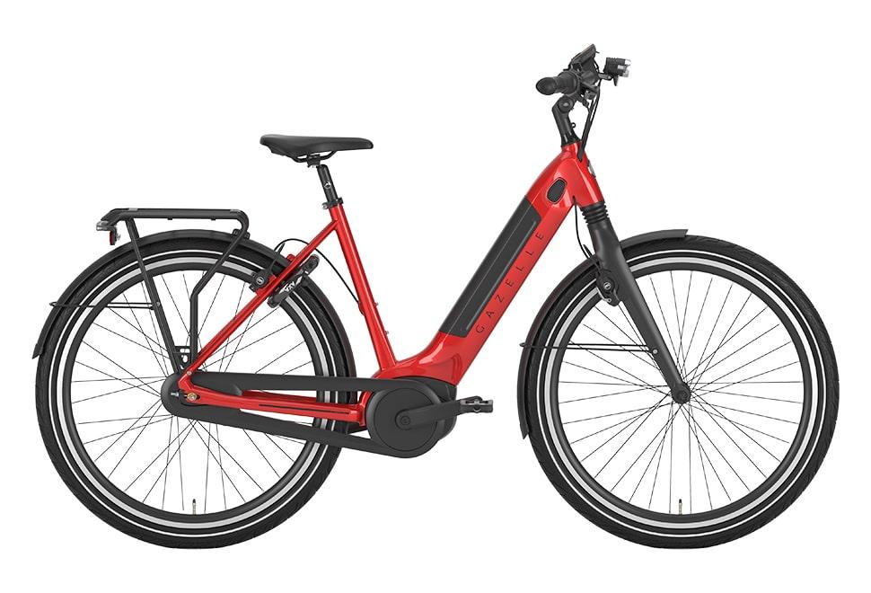 Gazelle Ultimate C8+ HMB - Black 61 cm.   el-cykel