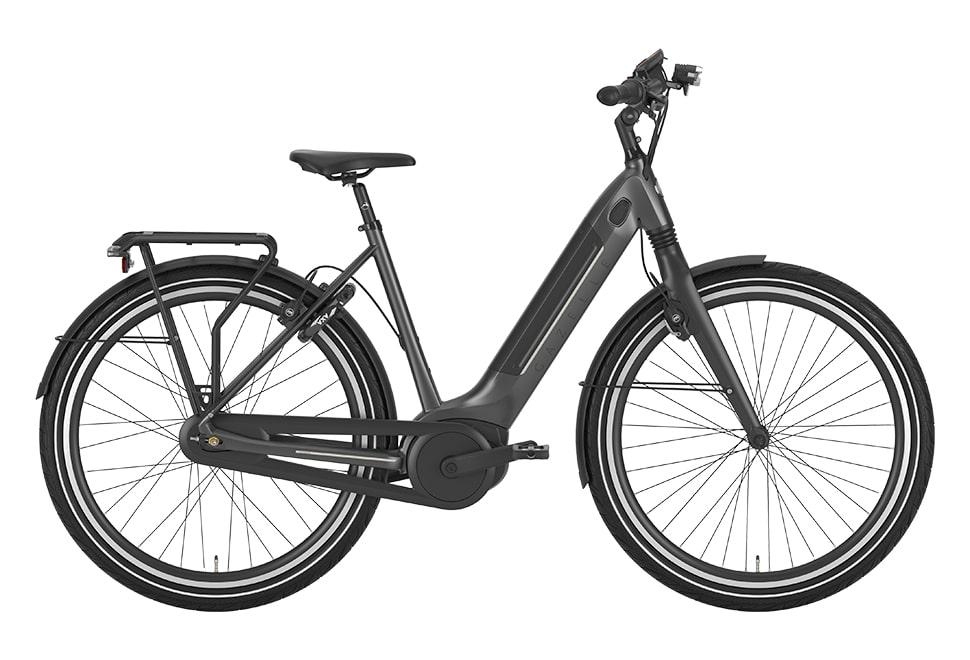 Gazelle Ultimate C8+ HMB damecykel i grå