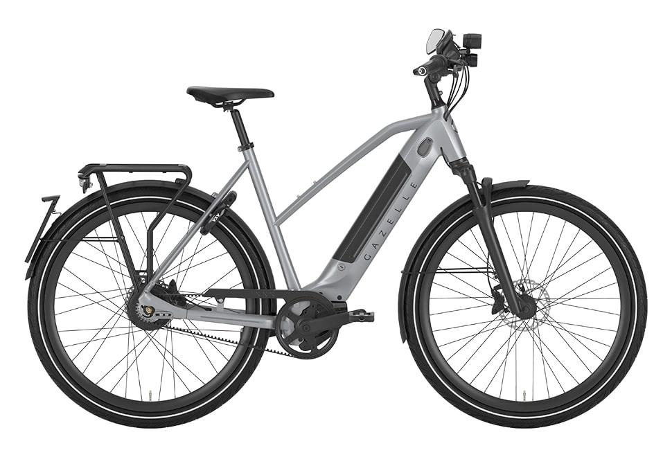 Gazelle Ultimate Speed 380 damecykel i grå