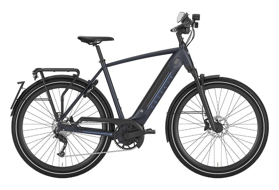 Gazelle Ultimate Speed herrecykel i blå