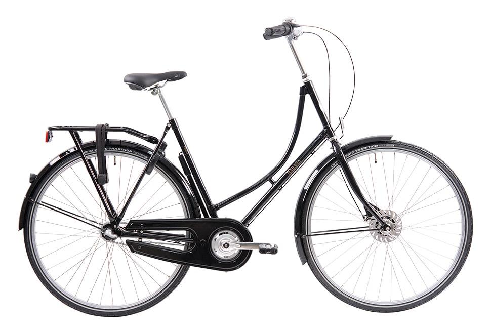 Ebsen Habana damecykel i sort