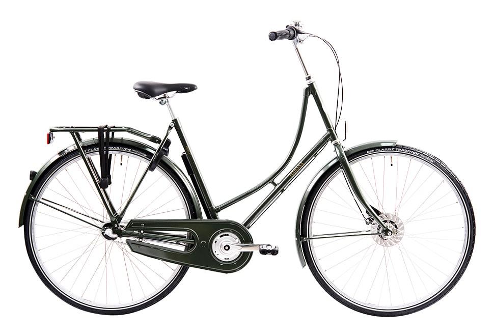 Ebsen Habana damecykel i grøn