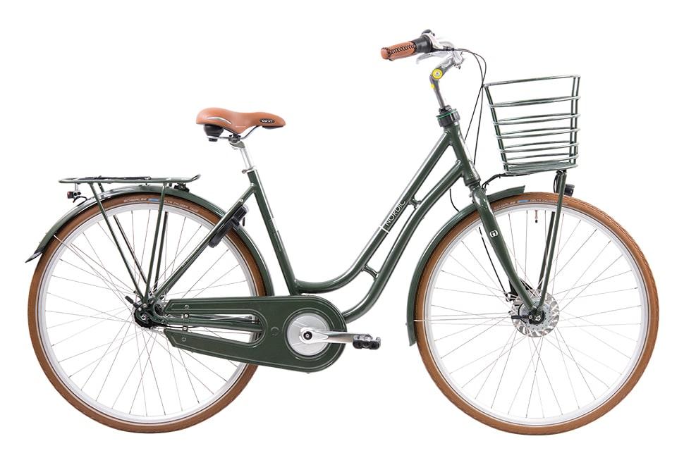 Ebsen Nordic Prestige damecykel i grøn