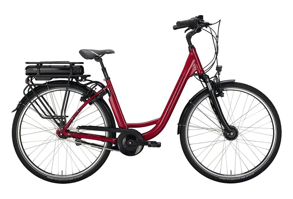 Victoria E-Classic 3.1 damecykel i rød