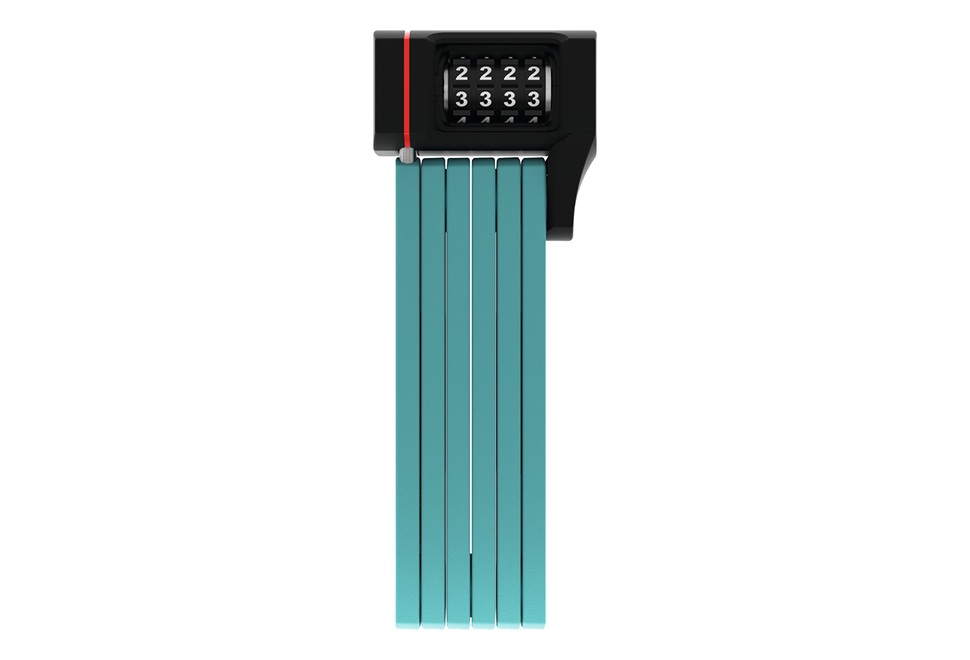 ABUS 5700 uGrip Bordo foldelås m. kode - 80 cm i grøn