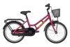 Winther 150 pige 18in 1 gear Mat purple/gul pigecykel i lilla