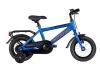 Winther 150 dreng 12in 1 gear Mat blå/orange drengecykel i blå