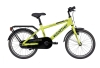Winther 150 dreng 18in 1 gear Mat grøn/petrol drengecykel i grøn