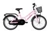 Winther 150 pige 18in 1 gear Mat pink/purple pigecykel i pink